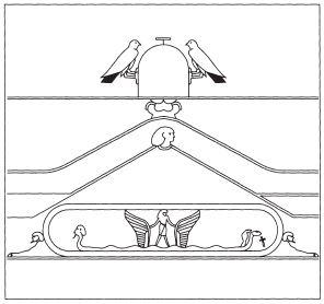 索卡王国的脐石。(图:商周出版 提供)