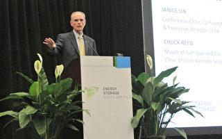 圣荷西市长乔可力表达洁净能源对圣荷西和硅谷未来发展的重要性(屈婧/大纪元)