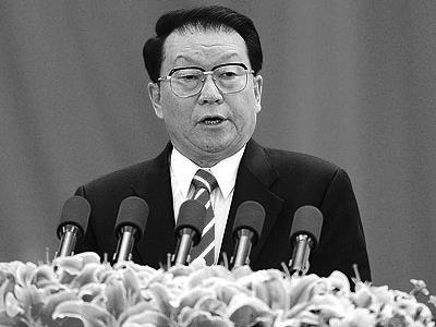 李长春(中共中央政治局常委)。(网络图片)