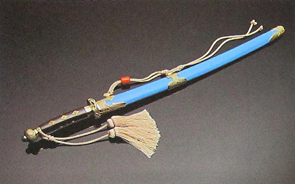 贝勒刀(国立历史博物馆)。(钟元翻摄/大纪元)