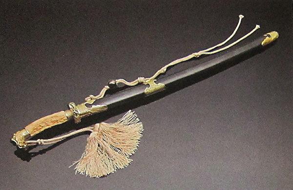 吴钩刀(国立历史博物馆)。(钟元翻摄/大纪元)