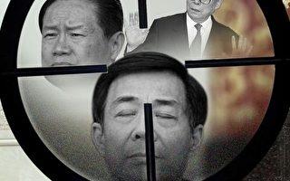 自薄案的庭審後,中共高層決裂公開,博弈白熱化。薄熙來一審判決後,港媒披露,北京消息稱,一場更大政治風暴正在醞釀中,反腐運動正指向前朝更高層領導人。(大紀元合成圖)
