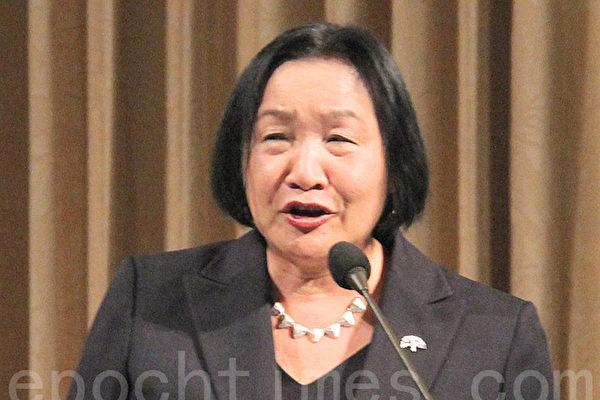 加州奥克兰市长关丽珍。(丘石/大纪元)