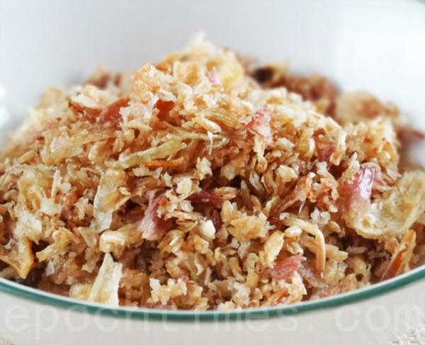 紅蔥酥適量(攝影:彩霞/大紀元)