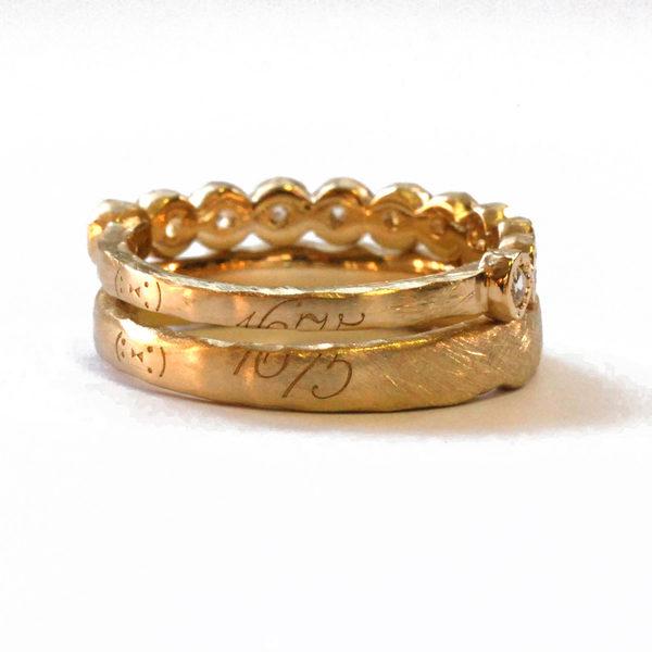 日本BENE珠宝公司的定做饰品。(日本BENE珠宝公司提供)