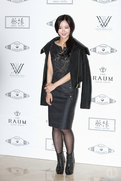 韩国演员姜汉娜(全宇/大纪元)
