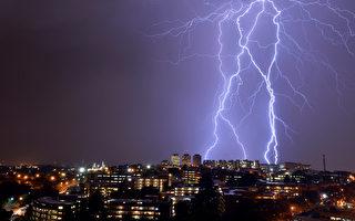 最大閃電幾乎台灣島一樣長 恐改寫閃電定義