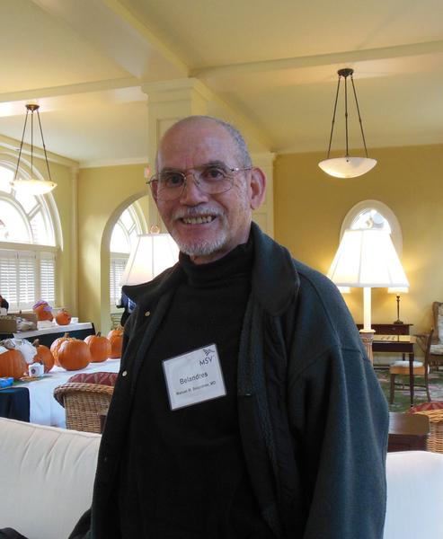 图: 13-207议案的发起人Manuel M. Belandres是维吉尼亚州医学协会成员,资深创伤外科及急救手术医生。(林南/大纪元)