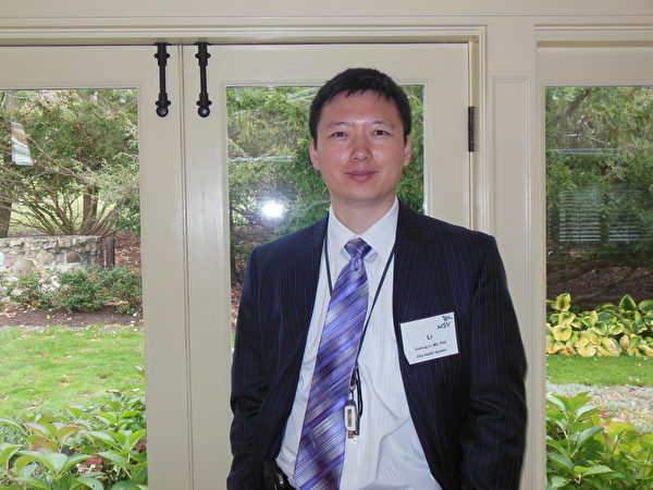 MSV协会成员李旭东医生说,他会让更多的美国医生同仁知道中共活摘器官的罪行,让人们共同制止这个前所未有的罪恶。(林南/大纪元)