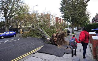 聖裘德風暴肆虐 英國損失約10億英鎊