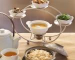 天香楼推出百货公司个人中式下午茶,一人套餐 NT$580+10%(亚都丽致提供)