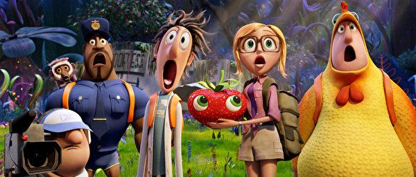 美國:《天降美食2》。(索尼提供)