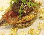 法国布列塔尼名厨Nicolas Adam的食谱-鲭鱼汉堡包(摄影:杨以芬/大纪元)