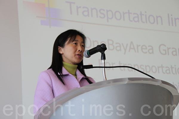 聖馬刁政府協會主席Sandy Wong。(屈婧/大紀元)
