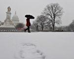 如果冬季風暴的警報預計將至少會導致有200萬人受到影響,或影響面積至少為154,000平方英里,就將會被命名。(JEWEL SAMAD/AFP/Getty Images)