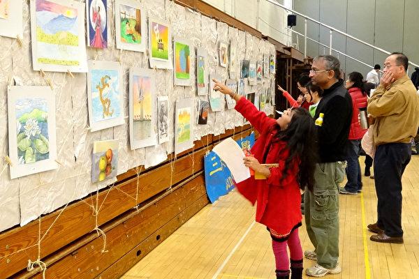 新唐人電視台舉辦首屆青少年繪畫比賽