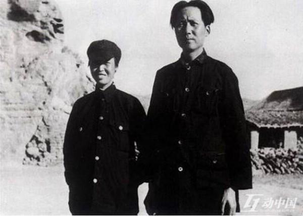 賀子珍和毛澤東(網絡圖片)