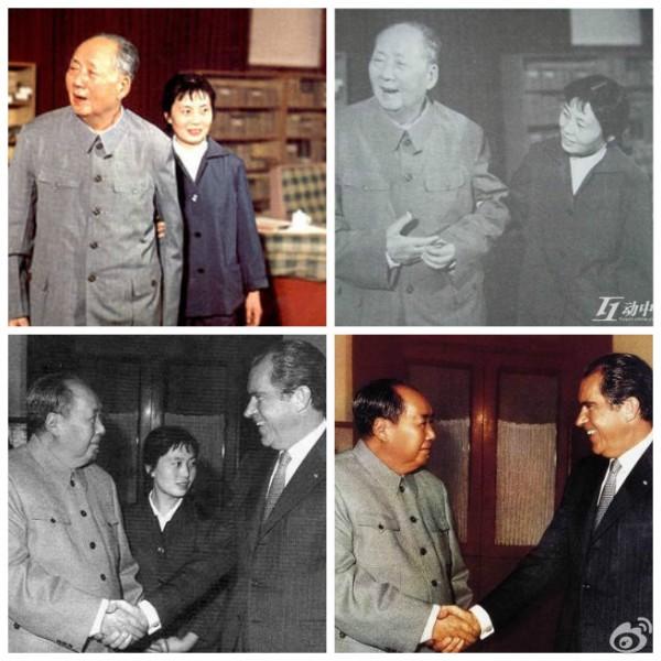 1970年7月,因得到毛澤東的欣賞,張玉鳳被調入中南海,隨後成為了毛的生活秘書,後兼機要秘書。(網絡圖片)