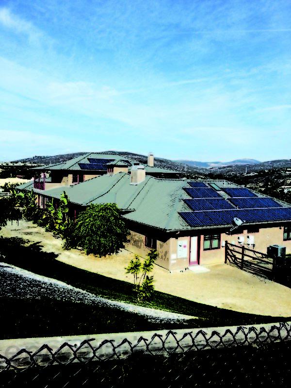 圖:已經裝好太陽能板的屋頂。(圖片由Semper Solaris提供)