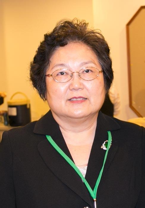 高雄市护理师护士公会理事长潘纯媚谴责中共活摘器官(明慧图片)