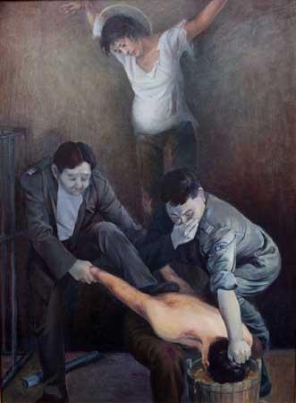 中共对法轮功学员实施的酷刑 (大纪元资料图片)
