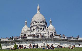 晶莹剔透的白教堂 巴黎圣心大教堂