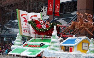 組圖:給予祝福平安 30萬人觀溫哥華聖誕遊行