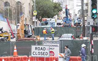 旧金山中央地铁完工日期再推迟 拟2021年底开始营运