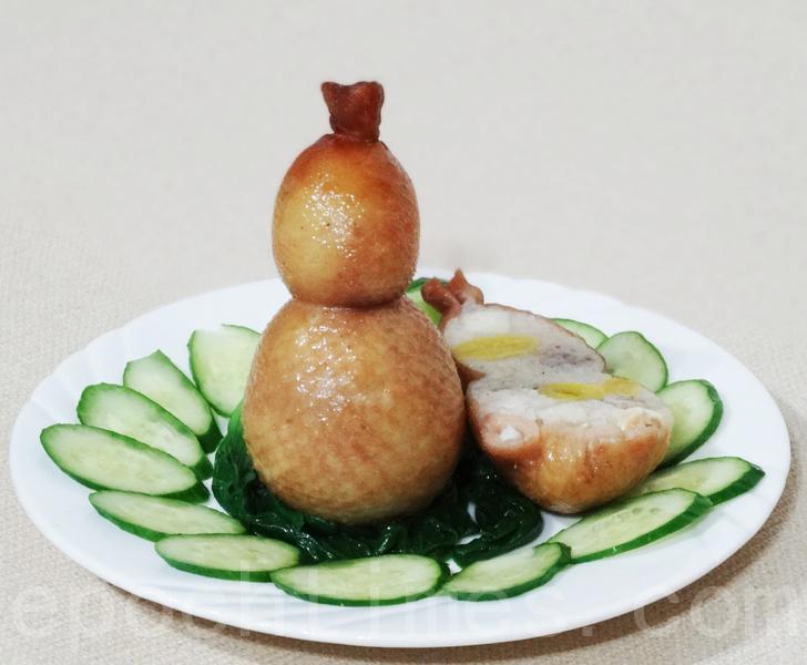 【美食典故】八宝葫芦鸭的由来