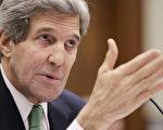 美国国务卿克里10日在国会接受听证时表示,伊朗核问题正处于微妙外交时刻,他呼吁国会目前不要通过对伊朗新制裁措施,给伊核问题谈判人员和专家组更多时间和空间。(图源:T.J. Kirkpatrick/Getty Images)