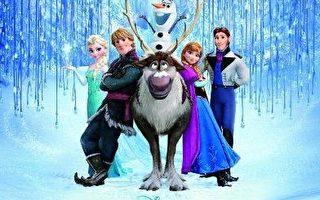 迪士尼《冰雪奇缘》发行电影原声大碟