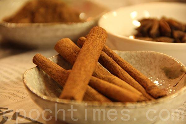 肉桂cinnamon(摄影:ALEX/大纪元)