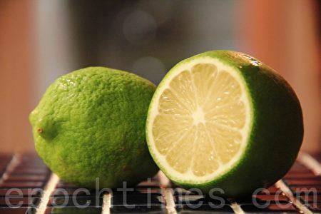 新鲜柠檬lemon(摄影:ALEX/大纪元)