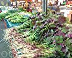 今年年節應景的農產品供應量及價格平穩。(郭益昌 /大紀元)