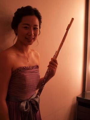 韓國長笛老師(作者提供)