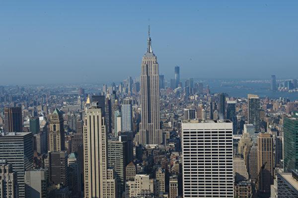世界之都纽约热盼神韵。纽约帝国大厦。(戴兵/大纪元)