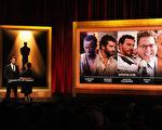 第86届奥斯卡金像奖提名在美国电影艺术与科学学院(Academy of Motion Picture Arts and Sciences)的高德温剧院揭晓。图为最佳男配角入围者。(Kevin Winter/Getty Images)