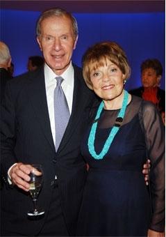 纽约金融家与艺术慈善家Diker夫妇。(网络图片)