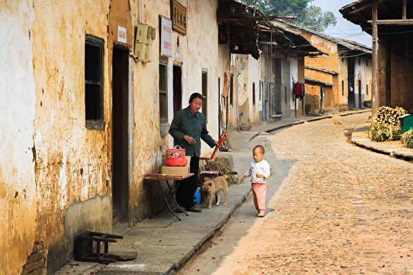 珠璣巷是粵北南雄縣城的一條街,距離梅關古道40華里。(大紀元圖片庫)