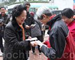 前政務司司長陳方安生呼籲香港商界要面對社會要求真普選的聲音,並準備好參與。(蔡雯文/大紀元)