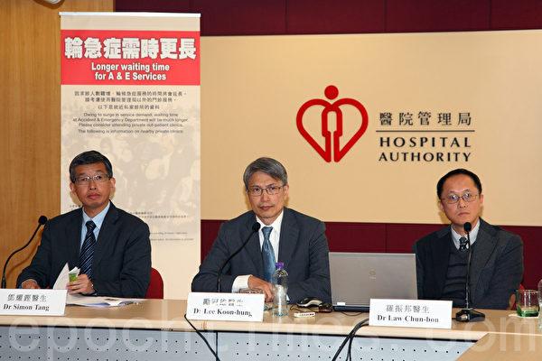 香港冬季流感高峰期急诊增两成