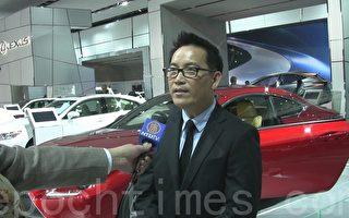 底特律北美国际汽车展2014年1月13日至26日在车城底特律举行。图为丰田北美地区公共关系专家Bill Kwong。(尹婉/大纪元)