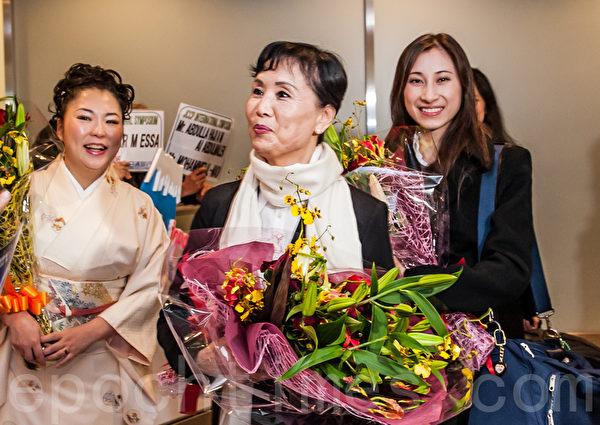 神韵国际艺术团团长张铁钧率团逾百名艺术家第三次来日演出。(牛彬/大纪元)