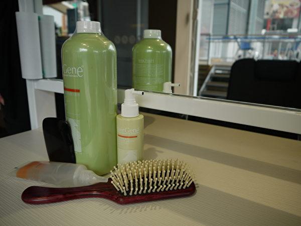 米兰时尚的头皮颈肩纾压SPA商品。(图:米兰时尚发型提供)