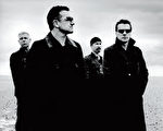 摇滚天团U2积极参加慈善活动。(环球唱片提供)