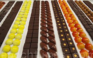 比利時巧克力秀場的滿漢全席