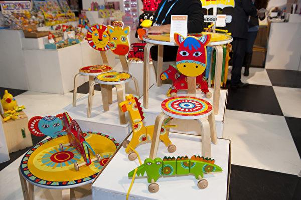 """纽约举办第111届""""美国国际玩具展览会""""(戴兵/大纪元)"""