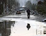 叙利亚问题日内瓦第二轮会谈14日失败,3年内战已造成14万人死亡,许多商业区如今几乎成了死城。(AFP)