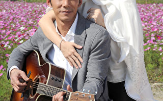 陶晶莹与老公李李仁入镜。(索尼提供)