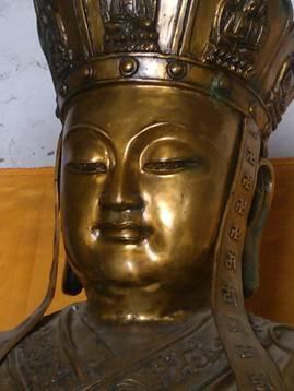 地藏菩萨像流泪(图片由作者提供)
